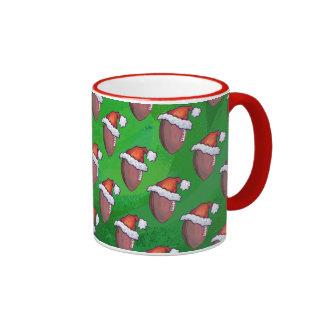 Navidad del fútbol taza