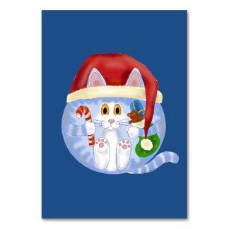 Navidad del gato de la chuchería