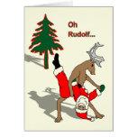 Navidad del gay tarjeta de felicitación