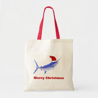 Navidad del gorra de Santa de la aguja azul