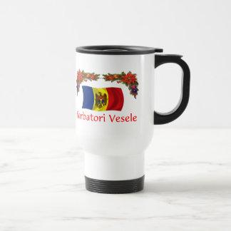 Navidad del Moldavia Tazas De Café