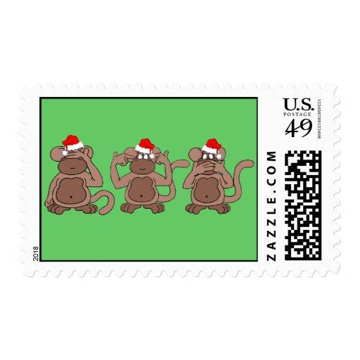 navidad del mono
