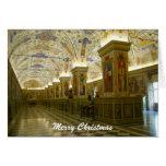 navidad del museo de vatican tarjeta