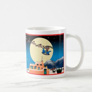 Navidad del nanómetro taza de café