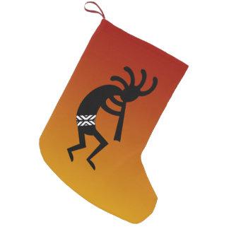 Navidad del navidad del sudoeste de Kokopelli de Bota Navideña Pequeña