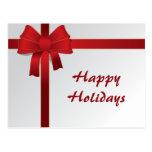 Navidad del negocio tarjetas postales
