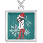 Navidad del niño de Emo del collar