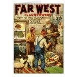 navidad del Occidental-tema 1928 Felicitacion