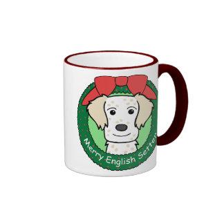 Navidad del organismo inglés tazas de café
