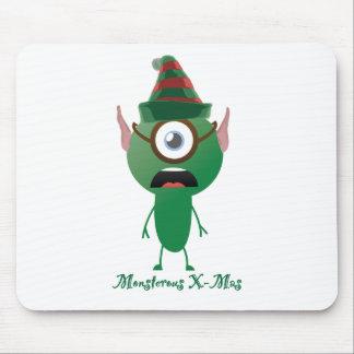 Navidad del ouphe tapete de ratón