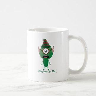 Navidad del ouphe tazas