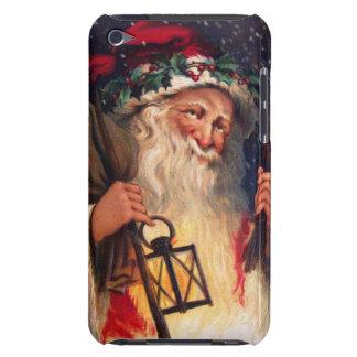 Navidad del padre con la linterna iPod Case-Mate cobertura