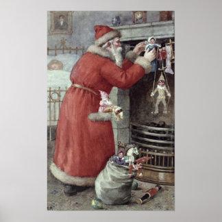 Navidad del padre poster