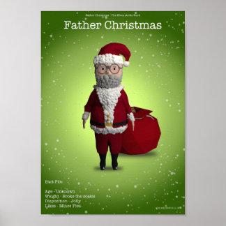 Navidad del padre póster