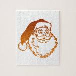 Navidad del padre puzzle con fotos