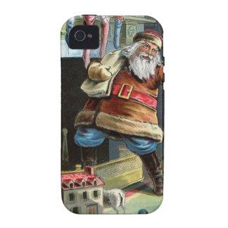 Navidad del padre que va para arriba la chimenea vibe iPhone 4 carcasas