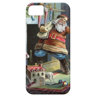Navidad del padre que va para arriba la chimenea iPhone 5 carcasas