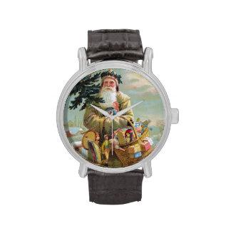 Navidad del padre relojes de pulsera