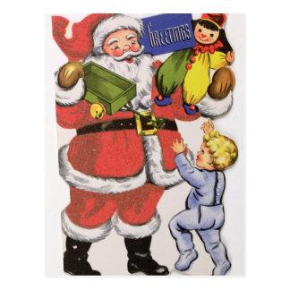 Navidad del padre, tarjeta de Navidad del Tarjetas Postales