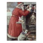 Navidad del padre tarjetas postales