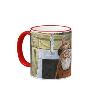 Navidad del padre taza a dos colores