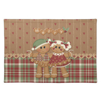 Navidad del país del pan de jengibre manteles