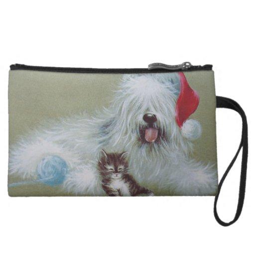 Navidad del perro de ovejas