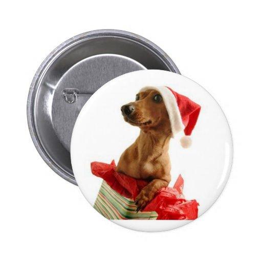 Navidad del perro - pin