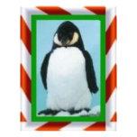 navidad del pingüino plantillas de membrete