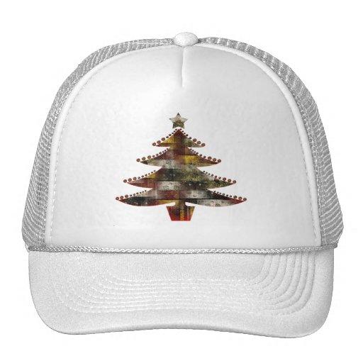 Navidad del remiendo gorras de camionero