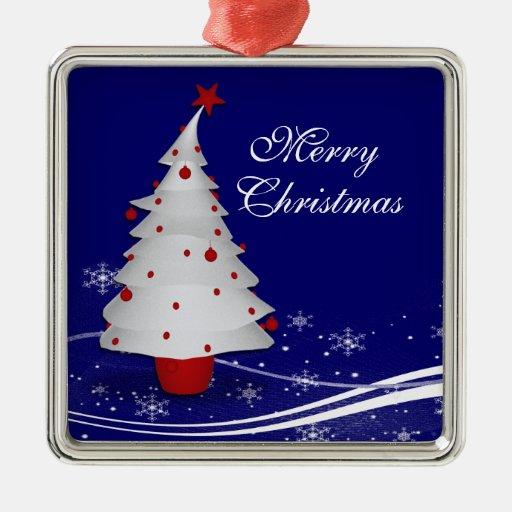 Navidad del reno del dibujo animado adorno