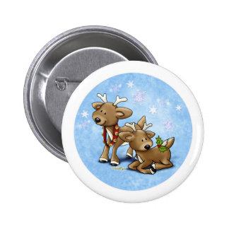 Navidad del reno pins