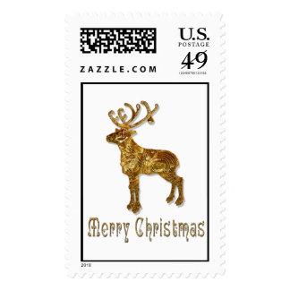 Navidad del reno envio