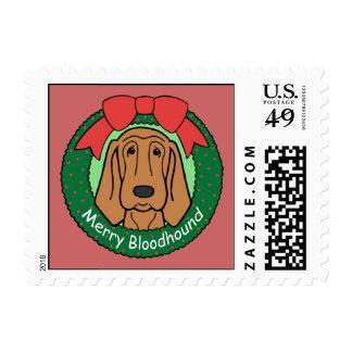 Navidad del sabueso sellos