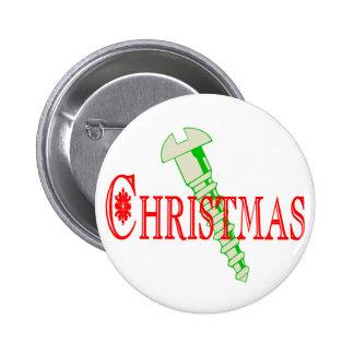 Navidad del tornillo pins
