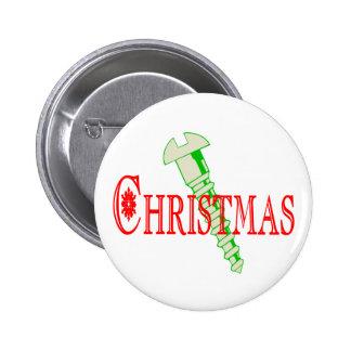 Navidad del tornillo pin redondo de 2 pulgadas