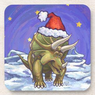 Navidad del Triceratops Posavasos