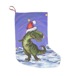 Navidad del Tyrannosaurus Bota Navideña Pequeña