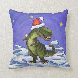 Navidad del Tyrannosaurus Almohada