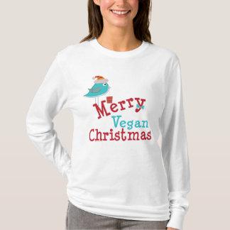 Navidad del vegano playera