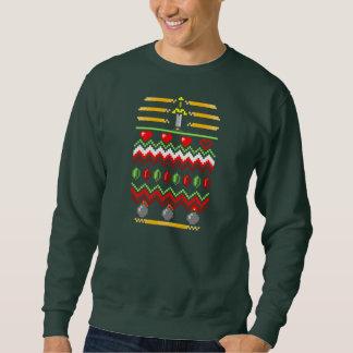 Navidad del videojugador pullover sudadera