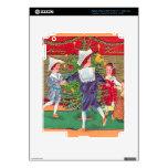 Navidad del vintage, baile de los niños de Edwardi Pegatina Skin Para iPad 3