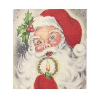 Navidad del vintage blocs de papel