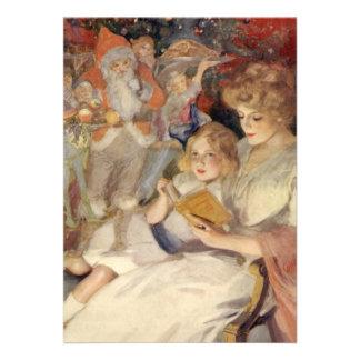 Navidad del vintage cuentos