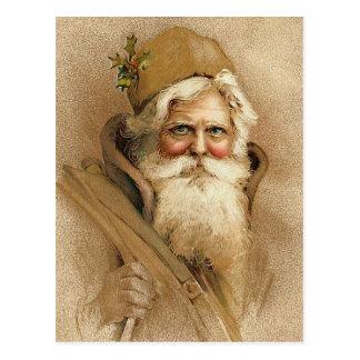 Navidad del vintage de las Felices Navidad Tarjetas Postales