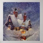 Navidad del vintage, el taller de Santa en Polo Impresiones