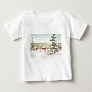 Navidad del vintage en Noruega, 1950 Tee Shirts
