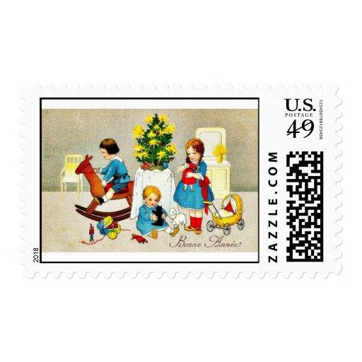 Navidad del vintage envio