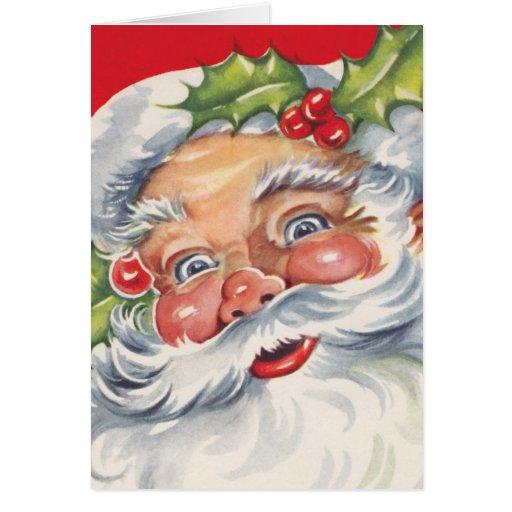 Navidad del vintage, fácil modificar tarjetas para