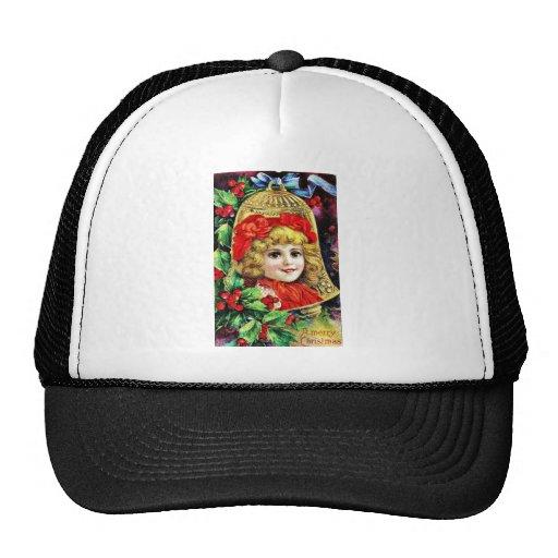 Navidad del vintage gorra